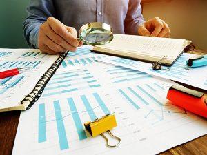 Financial Statement Photo